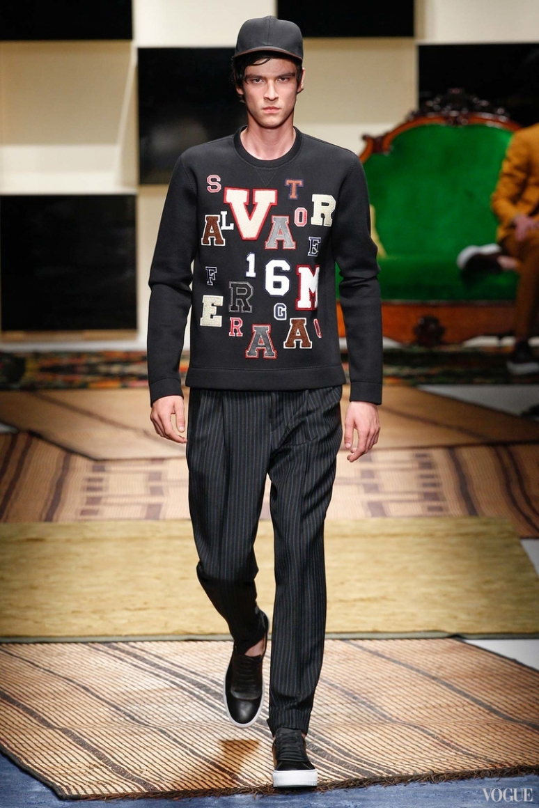 Salvatore Ferragamo Menswear весна-лето 2016 #6