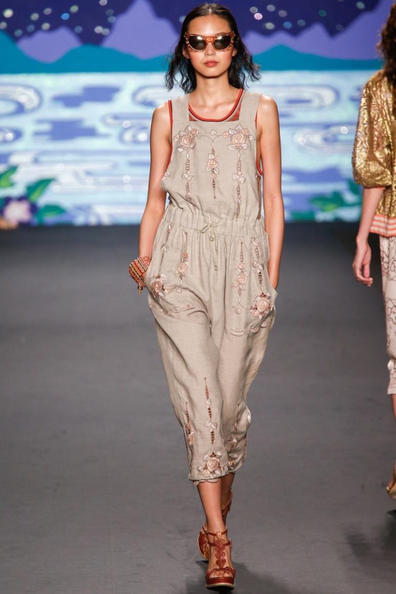 Anna Sui весна-лето 2014 #27