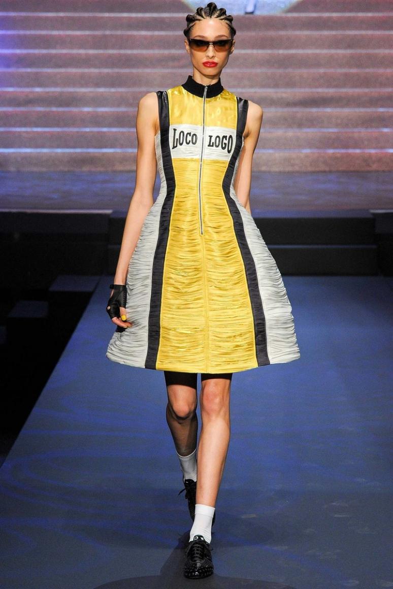 Jean Paul Gaultier весна-лето 2015 #61
