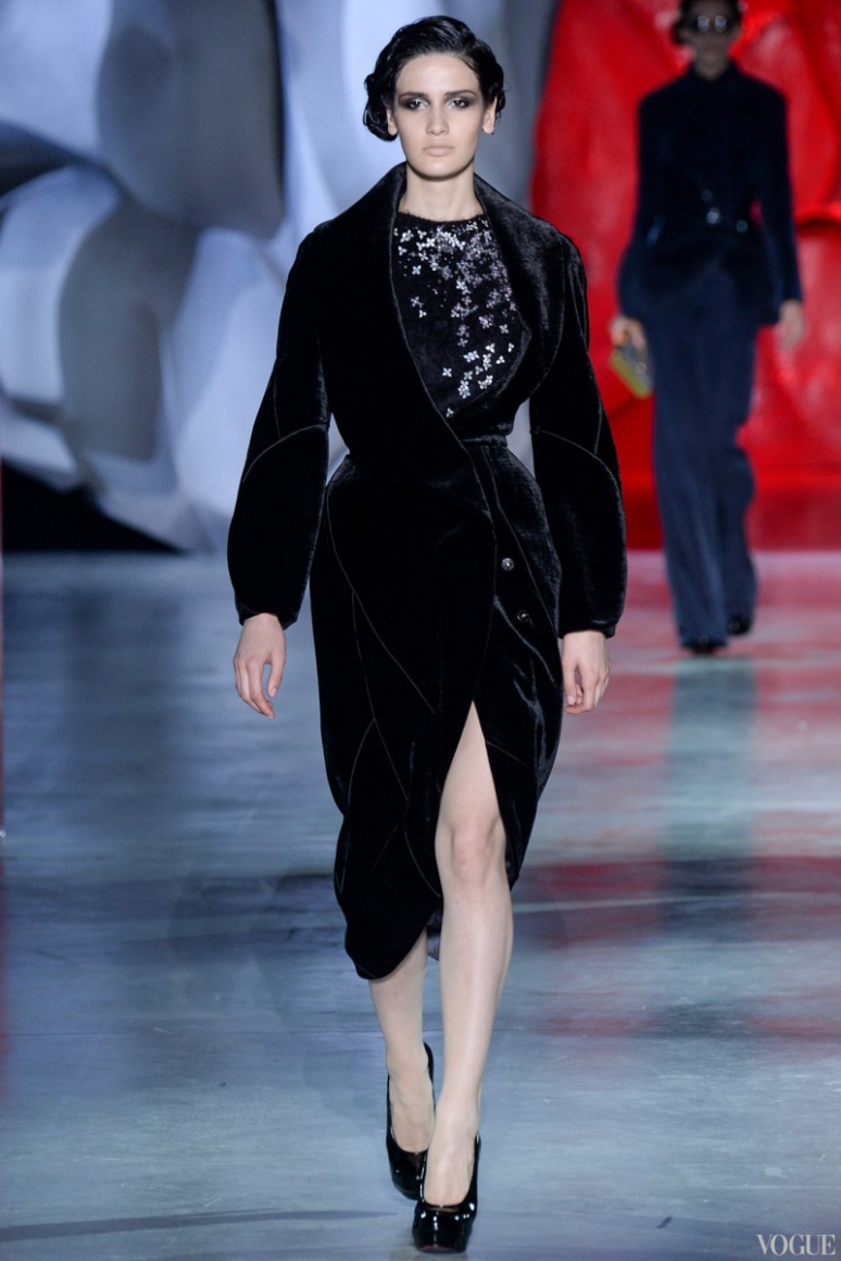 Ulyana Sergeenko Couture осень-зима 2014/2015 #7