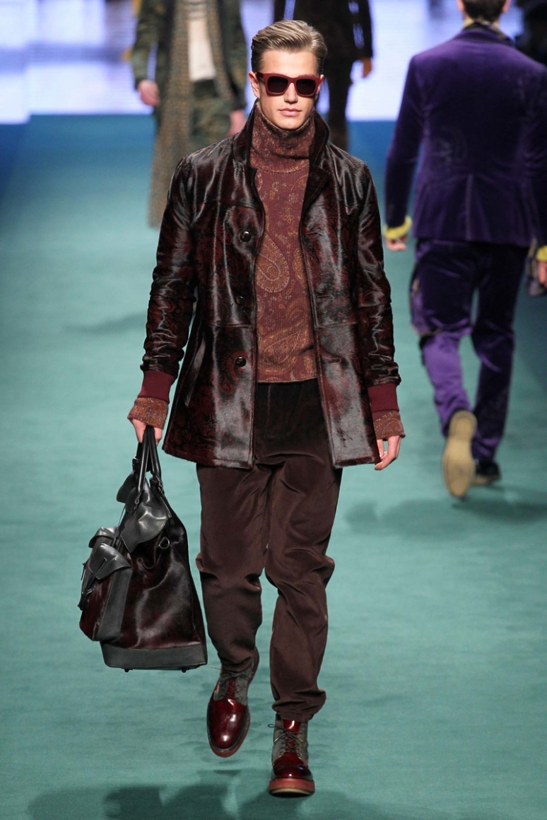 Etro Menswear осень-зима 2015/2016 #7