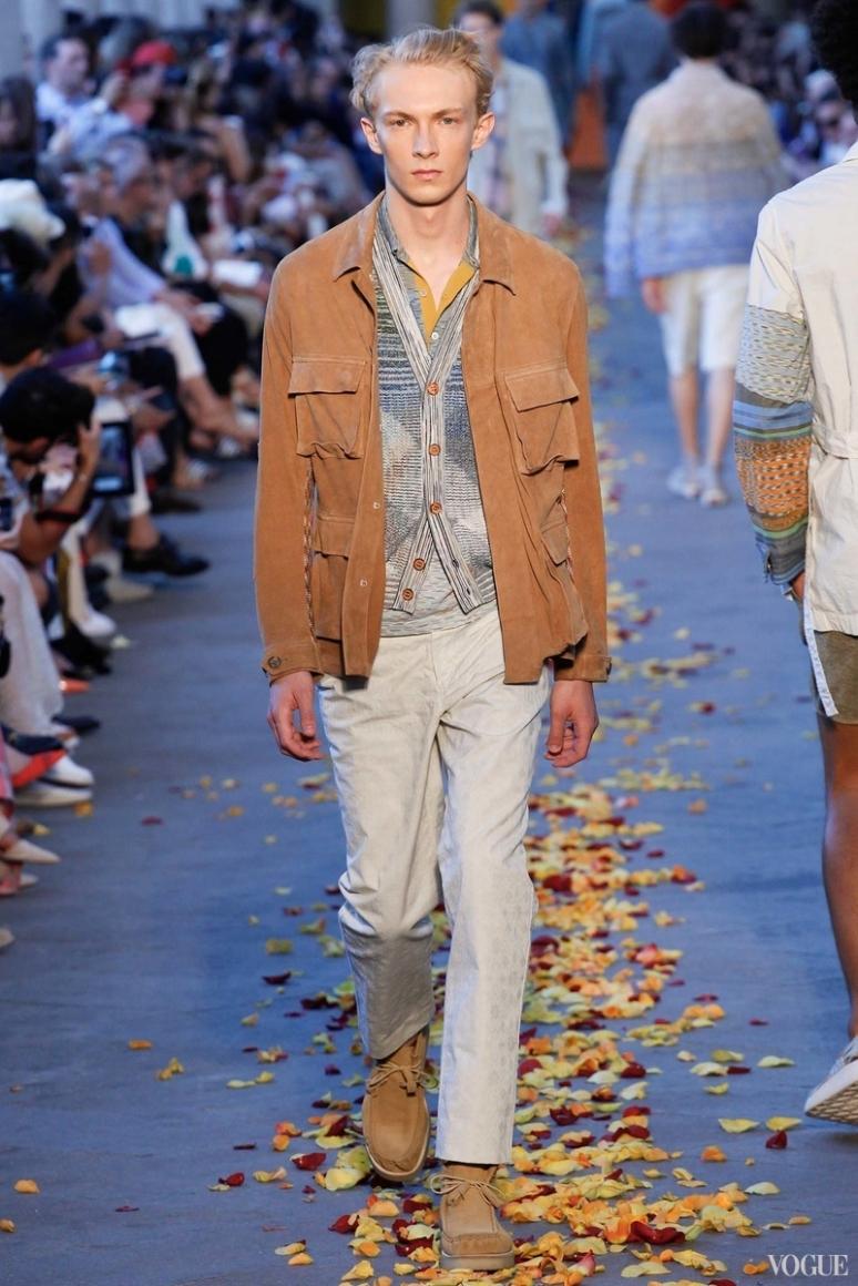 Missoni Menswear весна-лето 2016 #27