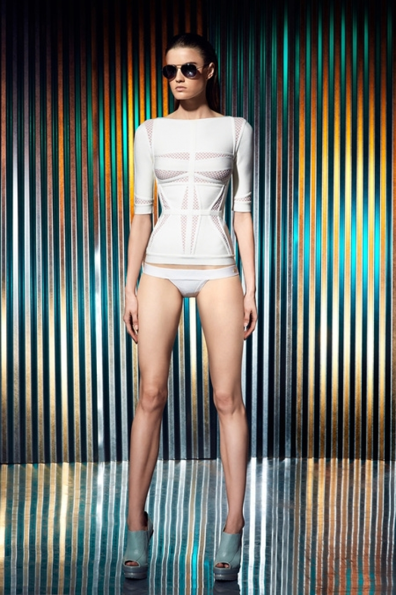Herve Leger by Max Azria Resort 2014 #4