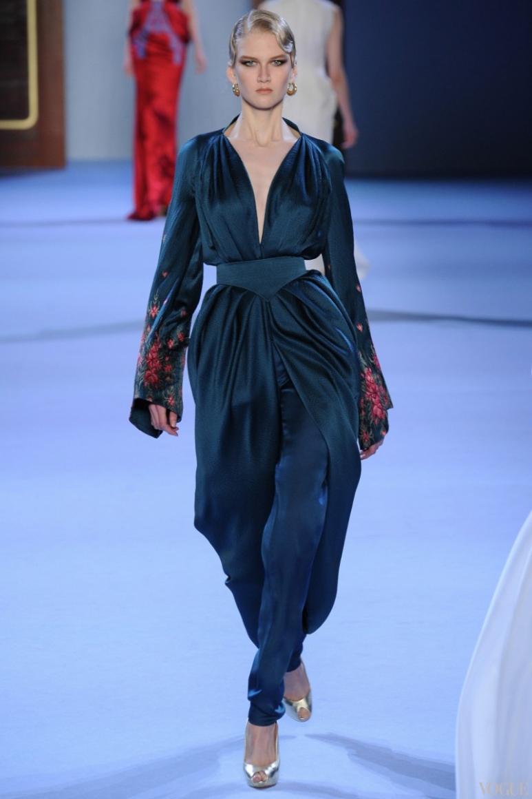 Ulyana Sergeenko Couture весна-лето 2014 #9