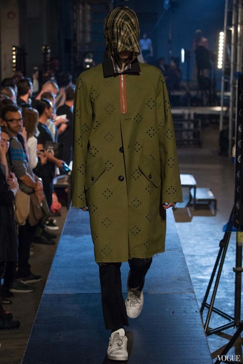 Raf Simons Menswear весна-лето 2016 #11