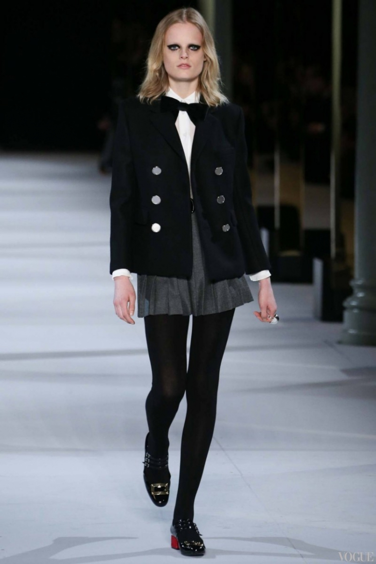 Saint Laurent осень-зима 2014/2015 #52