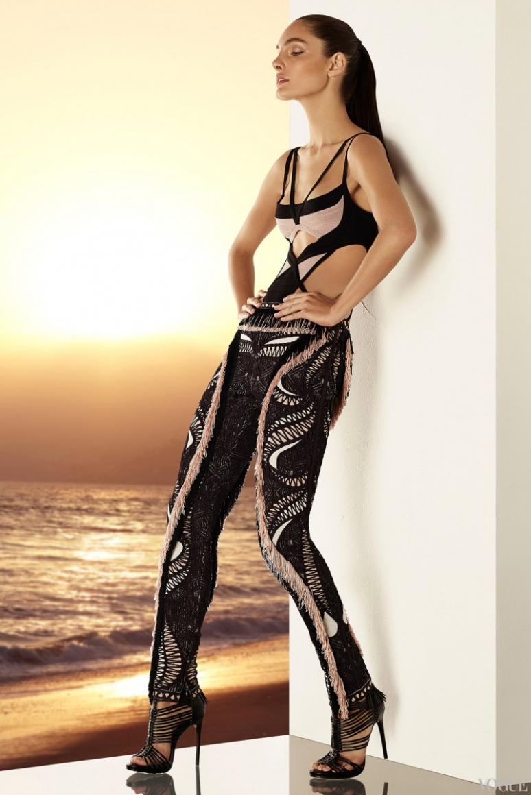 Herve Leger by Max Azria Resort 2015 #30