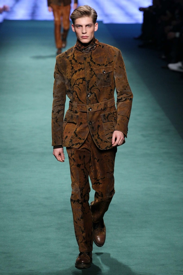Etro Menswear осень-зима 2015/2016 #56