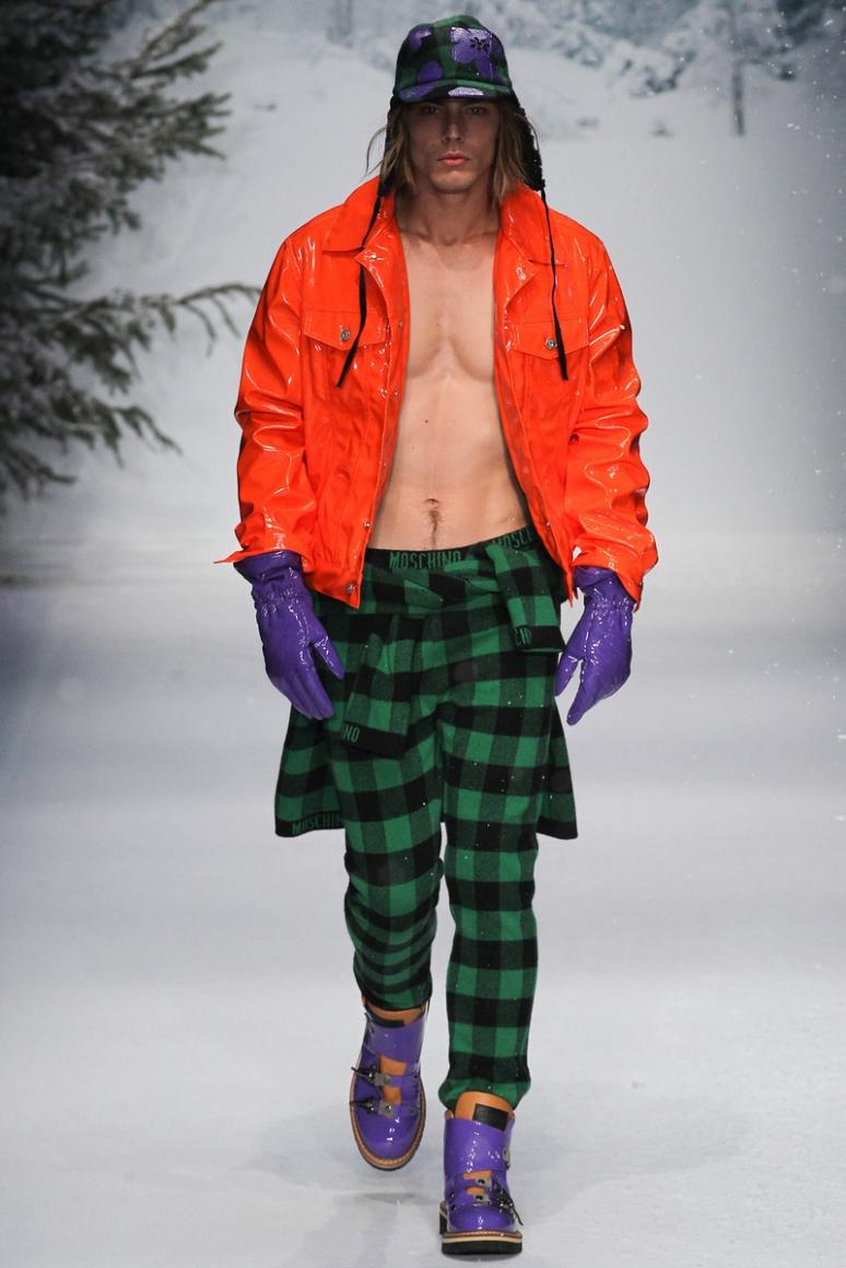 Moschino Menswear осень-зима 2015/2016 #22