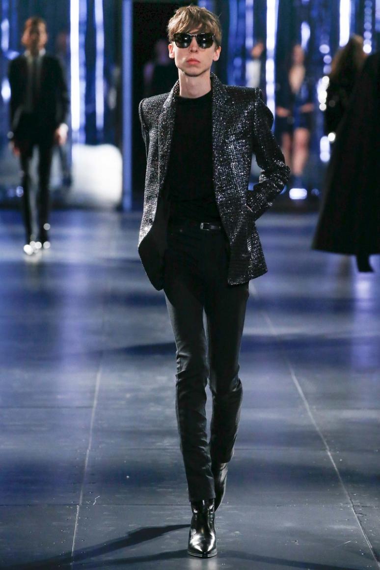 Saint Laurent Menswear осень-зима 2015/2016 #4