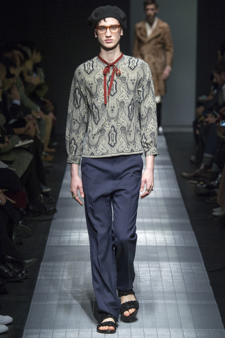 Gucci Menswear осень-зима 2015/2016 #11