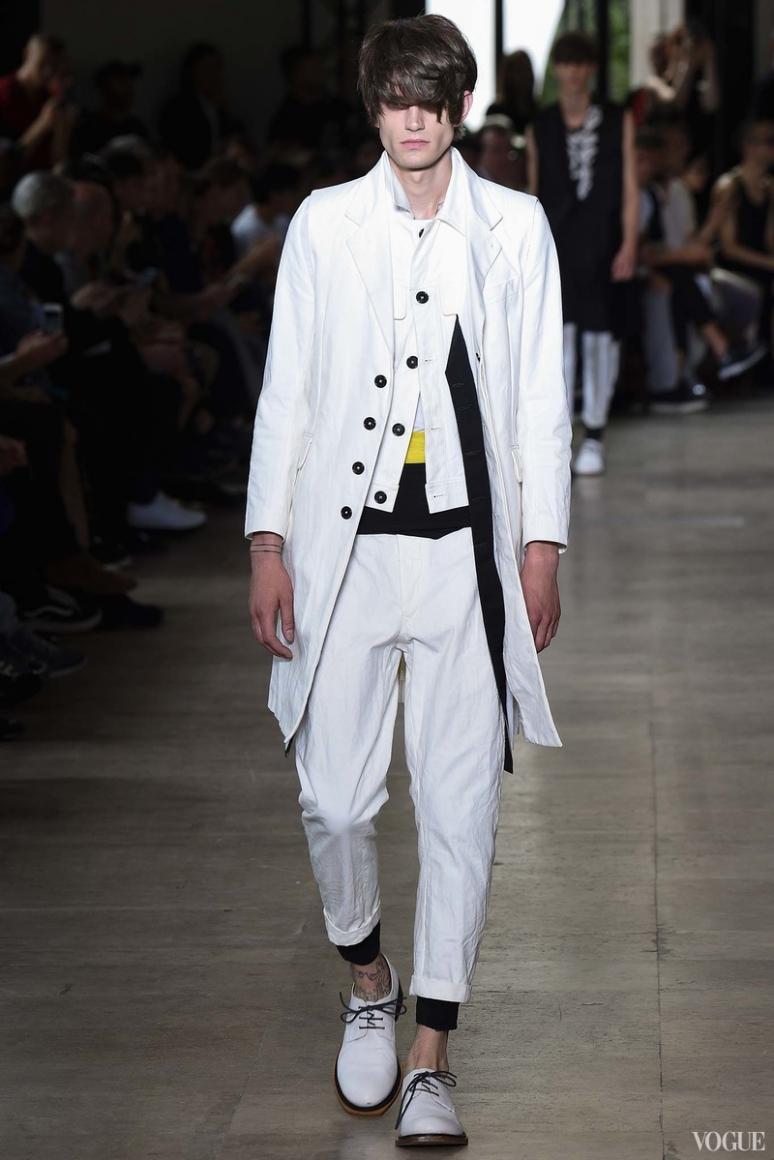 Ann Demeulemeester Menswear весна-лето 2016 #21