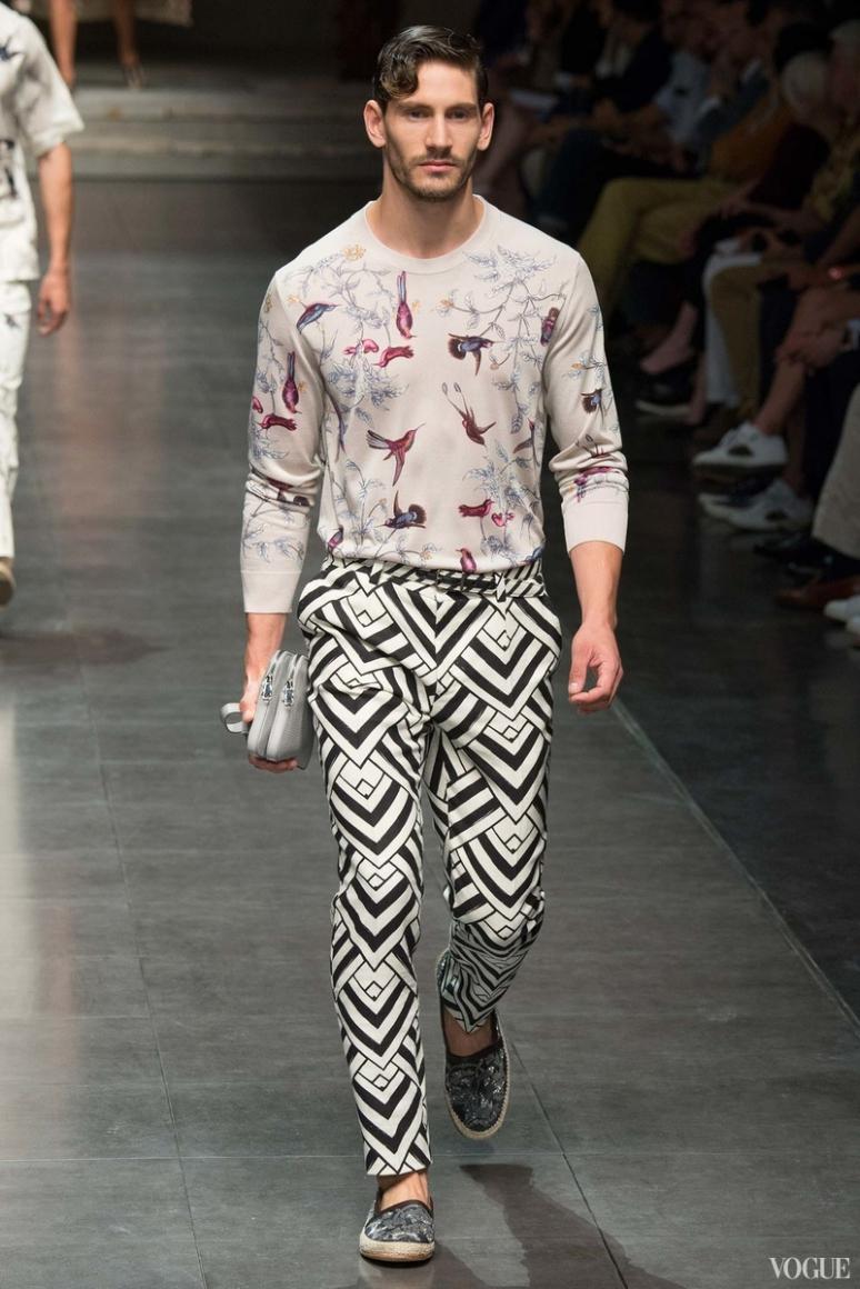 Dolce & Gabbana Menswear весна-лето 2016 #46