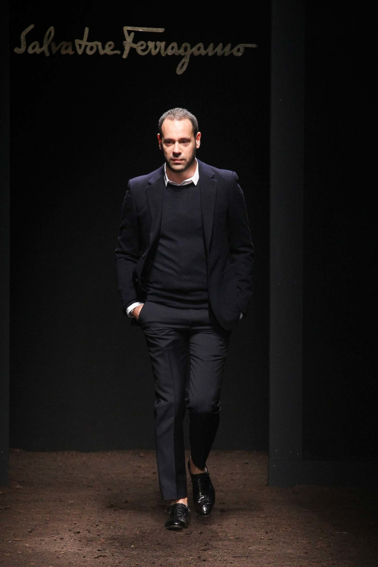 Salvatore Ferragamo Menswear осень-зима 2015/2016 #1