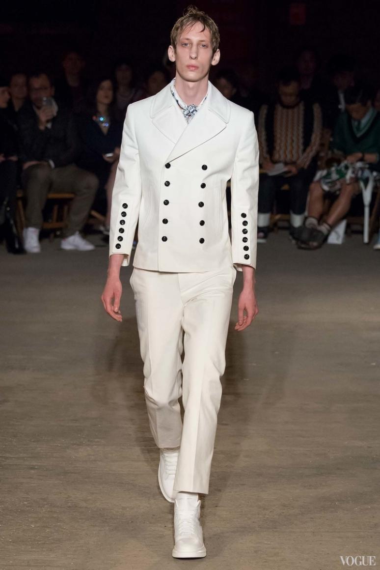 Alexander McQueen Menswear весна-лето 2016 #22