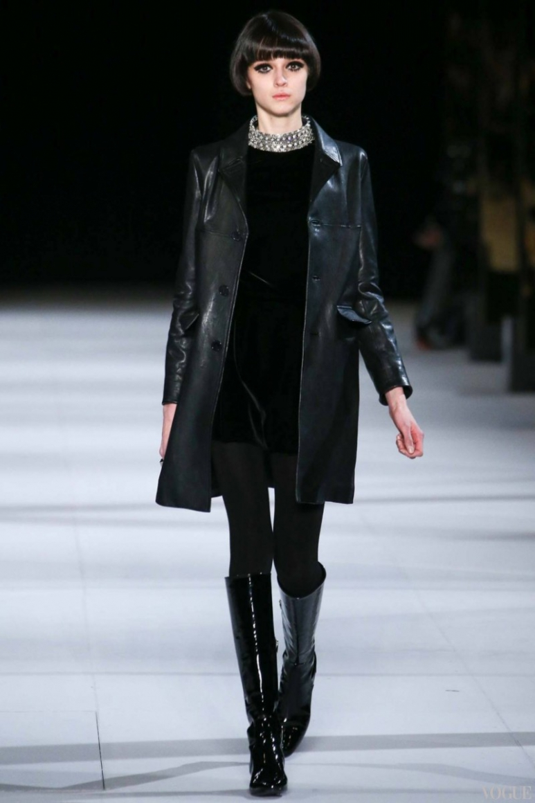 Saint Laurent осень-зима 2014/2015 #28