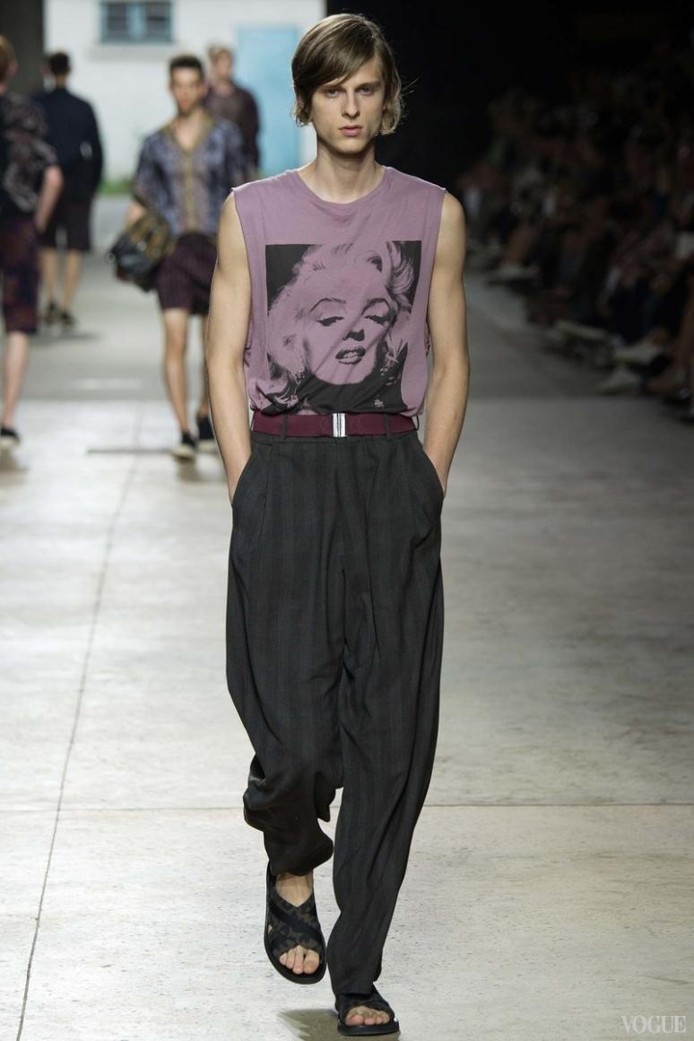Dries van Noten Menswear весна-лето 2016 #29