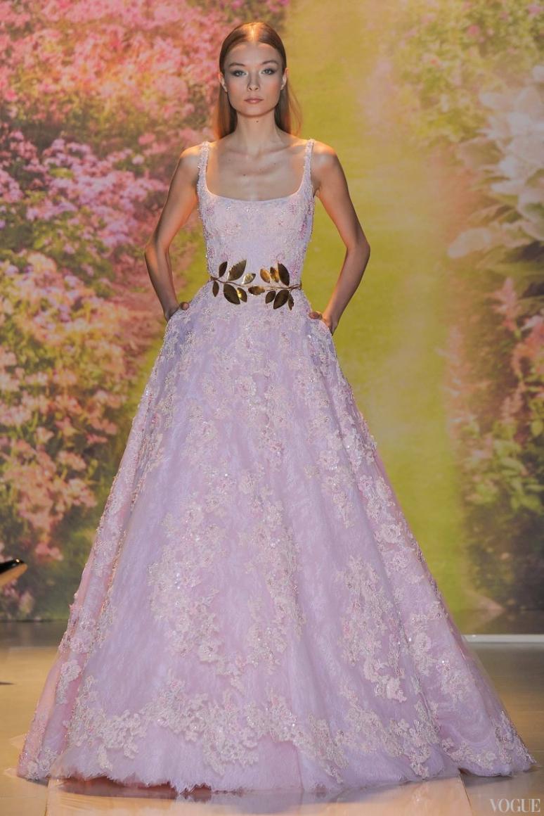 Zuhair Murad Couture весна-лето 2014 #24