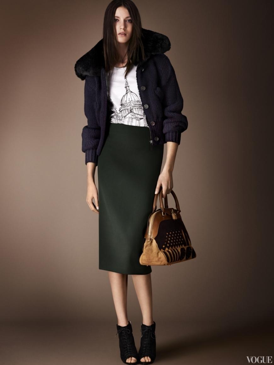 Burberry Prorsum Couture весна-лето 2013 #15