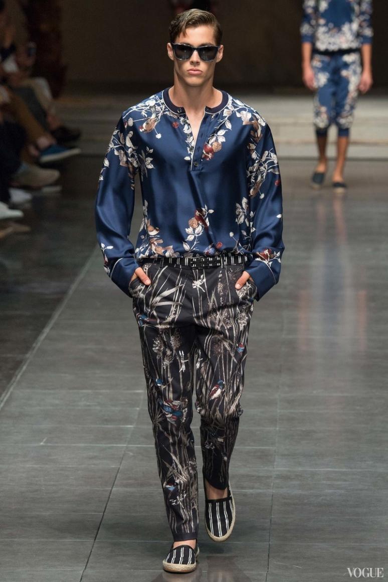 Dolce & Gabbana Menswear весна-лето 2016 #95