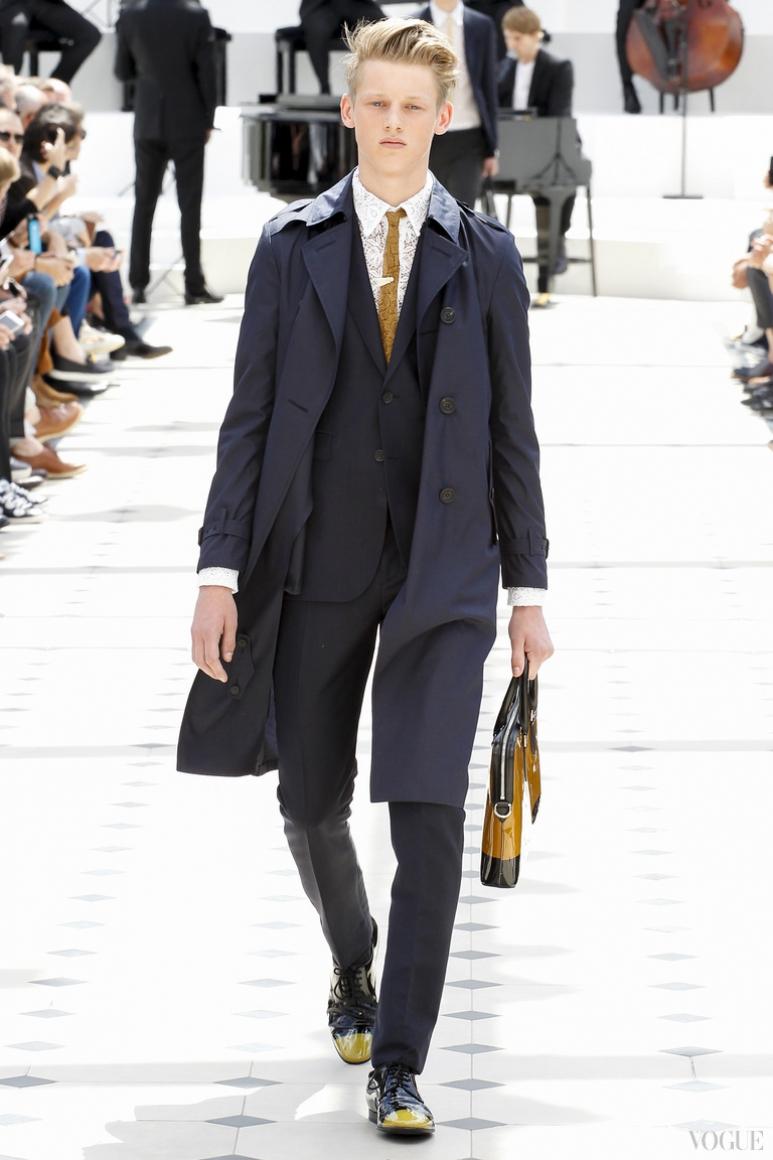 Burberry Prorsum Menswear весна-лето 2016 #56