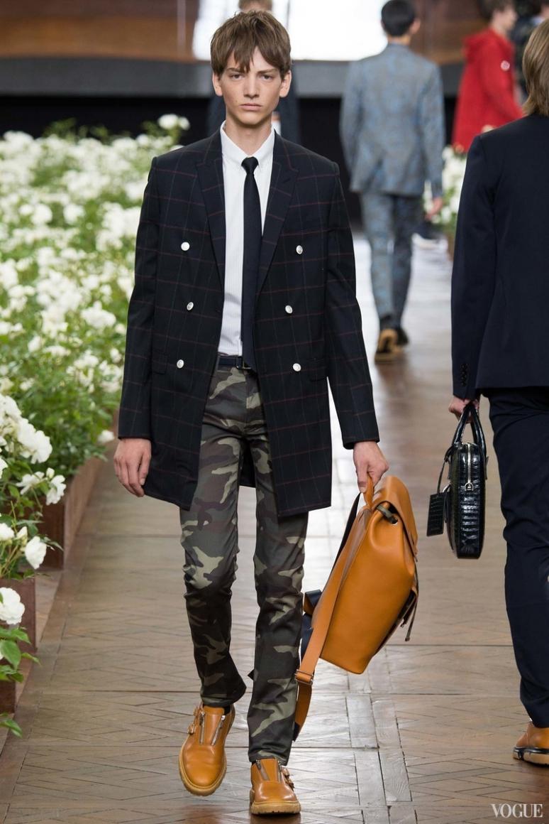 Dior Homme Menswear весна-лето 2016 #31