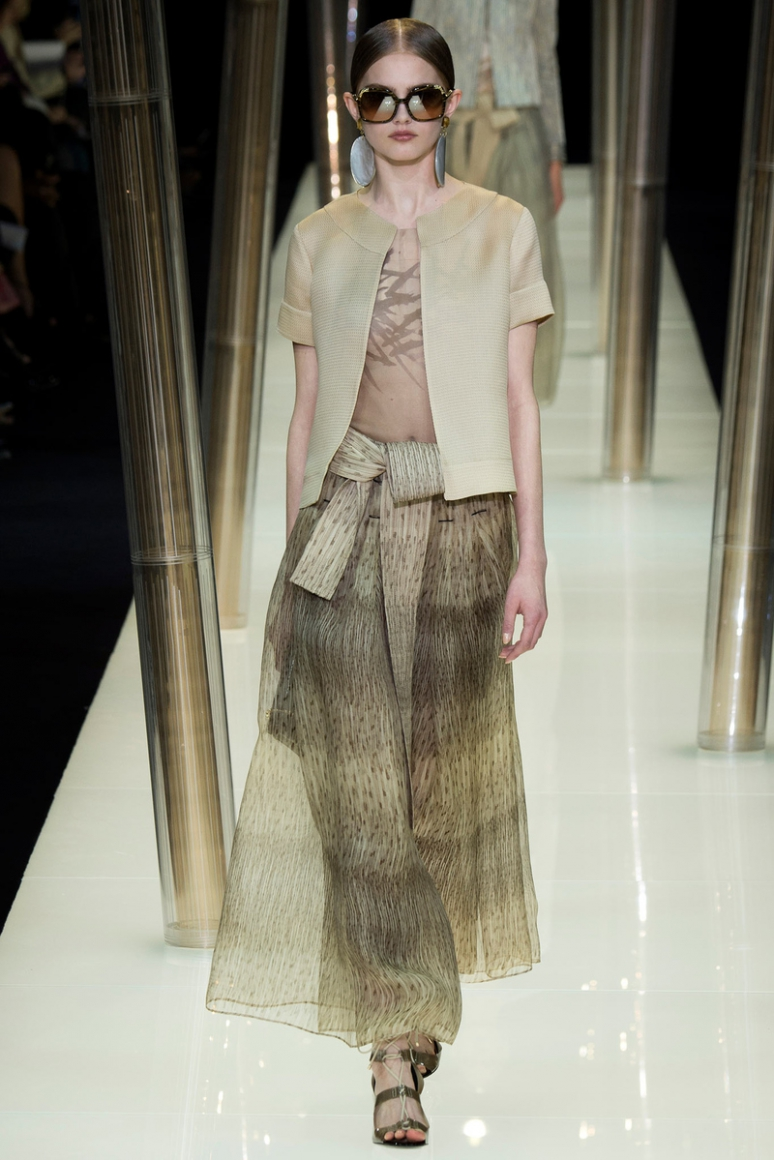 Armani Priv? Couture весна-лето 2015 #60