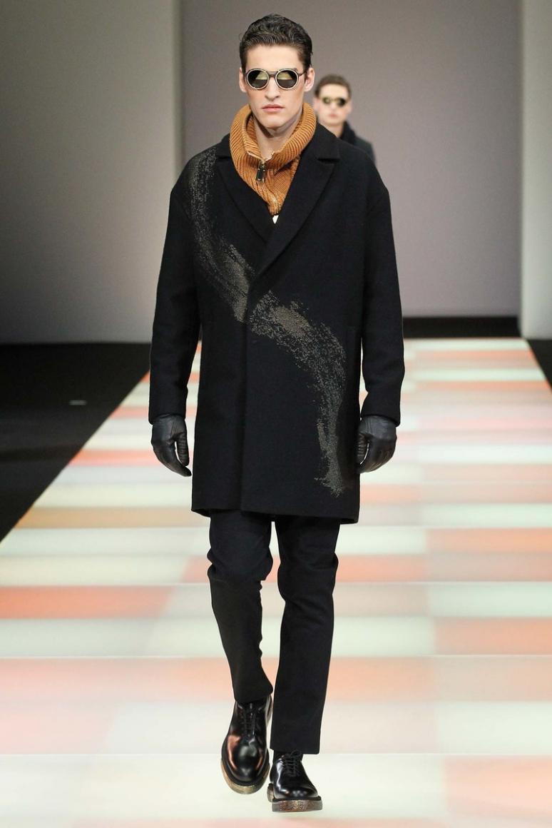 Emporio Armani Menswear осень-зима 2015/2016 #47