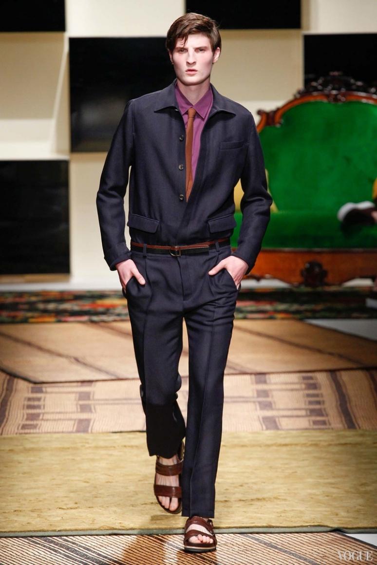 Salvatore Ferragamo Menswear весна-лето 2016 #12