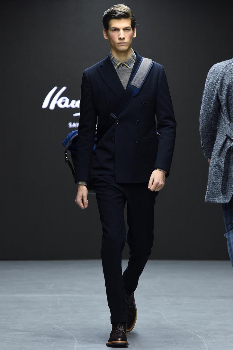 Hardy Amies Menswear осень-зима 2015/2016 #14