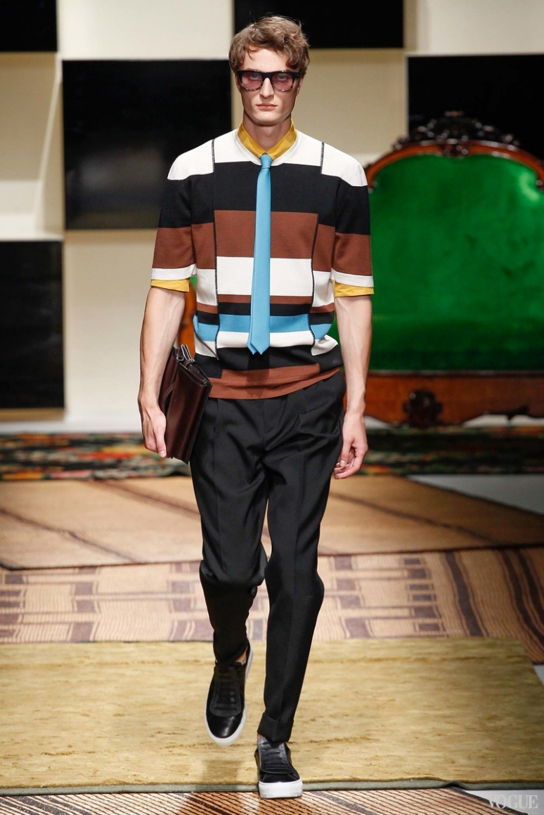Salvatore Ferragamo Menswear весна-лето 2016 #30