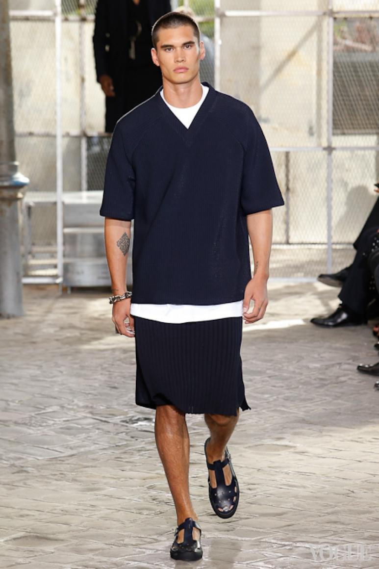Givenchy Menswear весна-лето 2016 #61