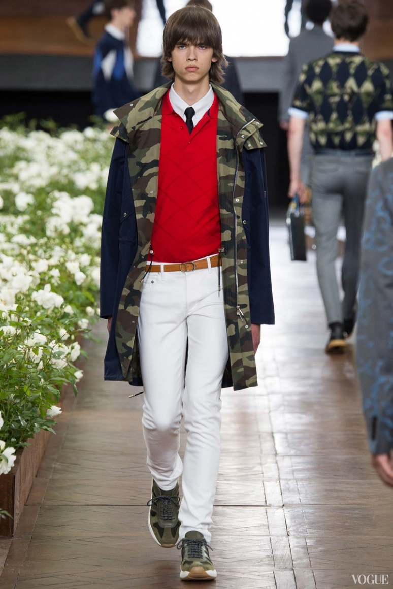 Dior Homme Menswear весна-лето 2016 #32