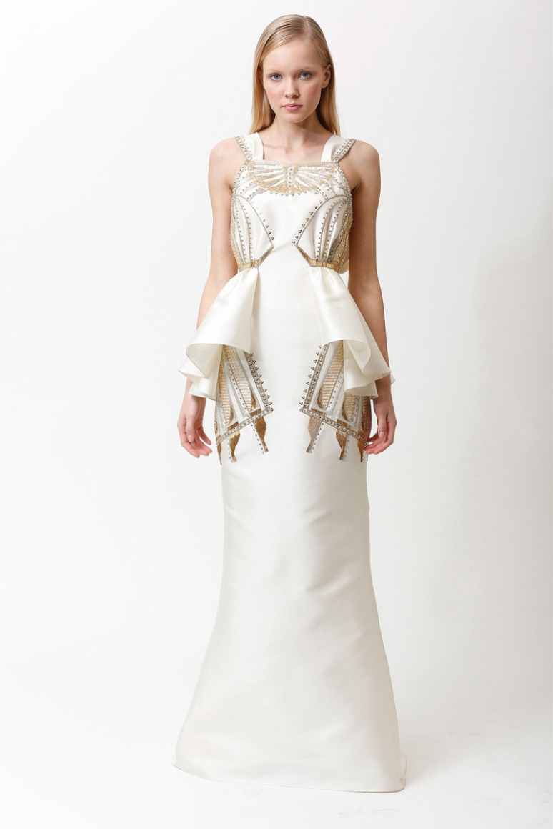 Badgley Mischka Pre-Fall 2013 #12