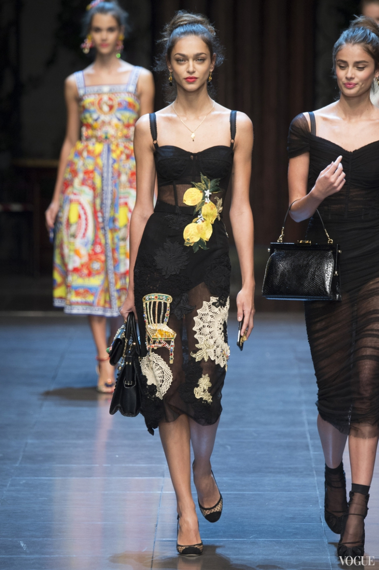 Dolce & Gabbana весна-лето 2016 #7