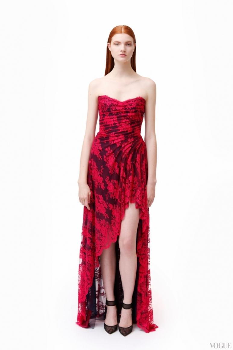 Monique Lhuillier Couture весна-лето 2013 #10