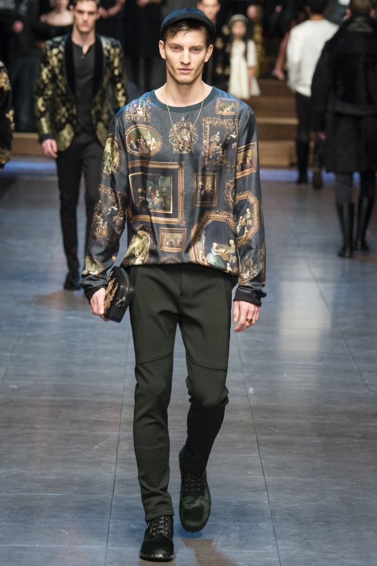 Dolce & Gabbana Menswear осень-зима 2015/2016 #64