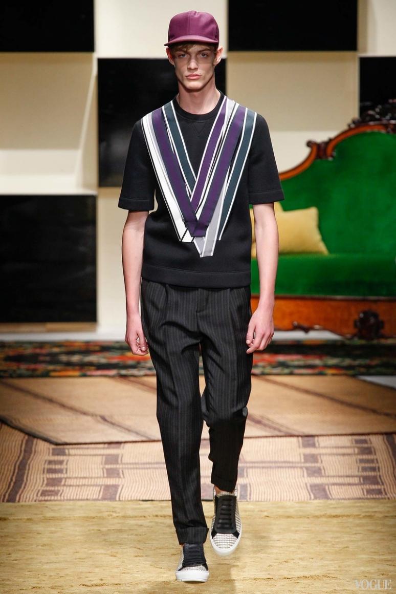 Salvatore Ferragamo Menswear весна-лето 2016 #10