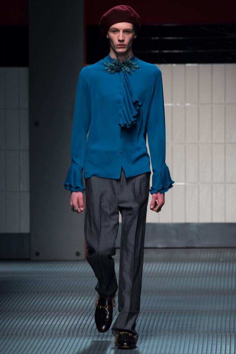 Gucci осень-зима 2015/2016 #12