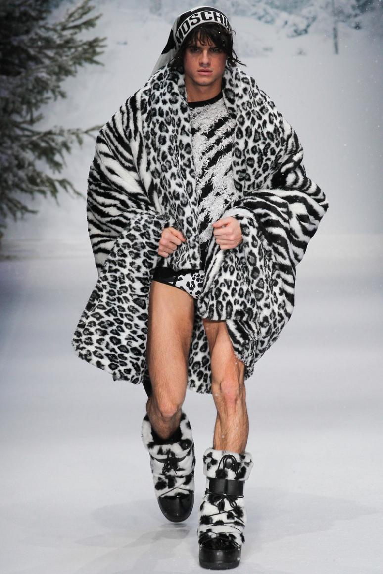 Moschino Menswear осень-зима 2015/2016 #44
