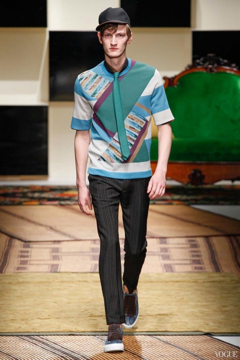 Salvatore Ferragamo Menswear весна-лето 2016 #34