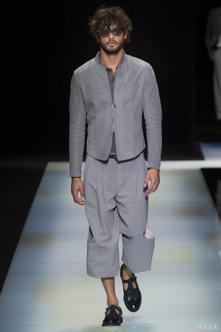 Giorgio Armani Menswear весна-лето 2016 #40