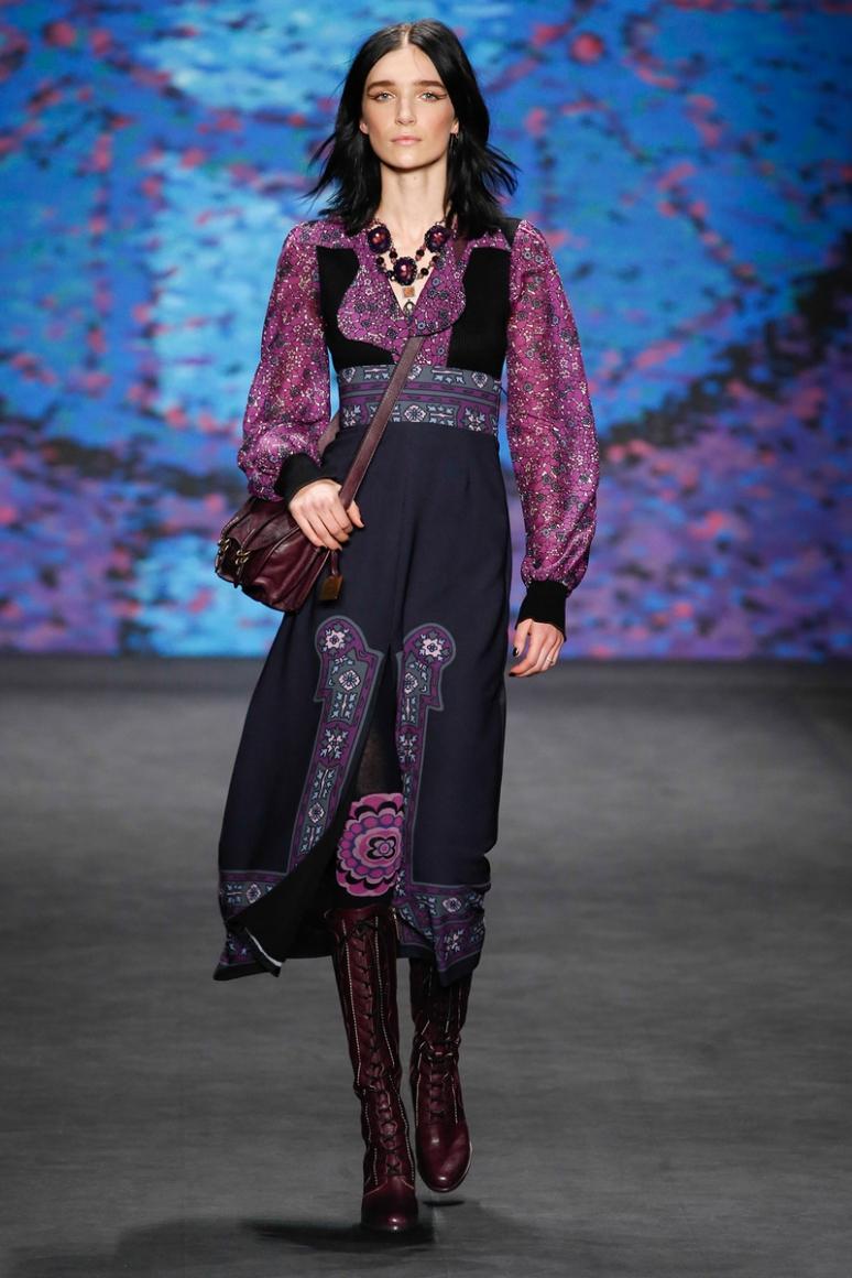 Anna Sui осень-зима 2015/2016 #41