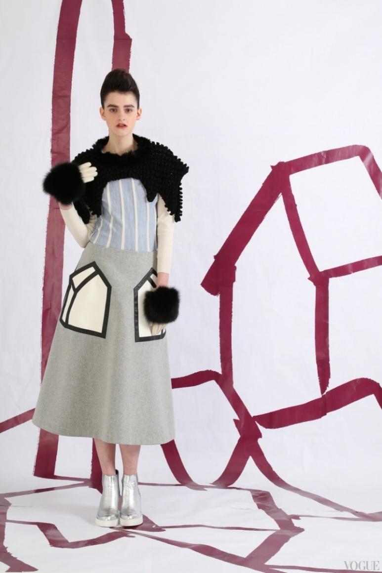 Tsumori Chisato Couture весна-лето 2013 #28