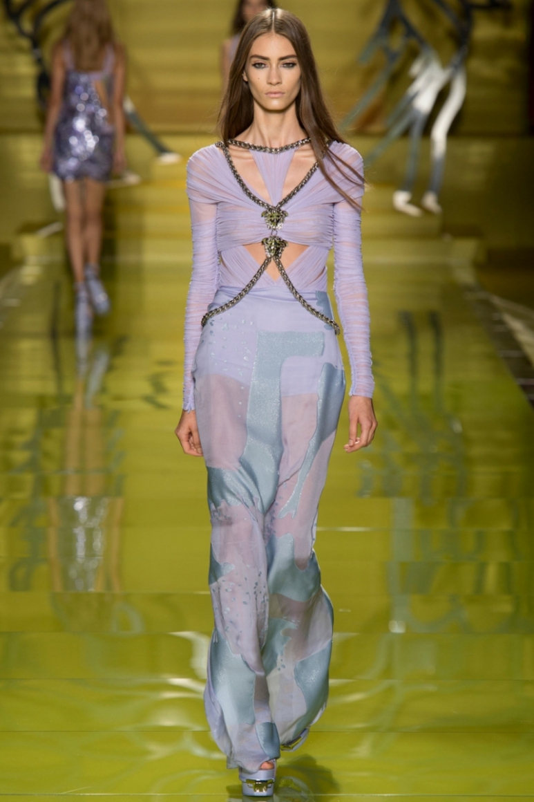 Versace весна-лето 2014 #6