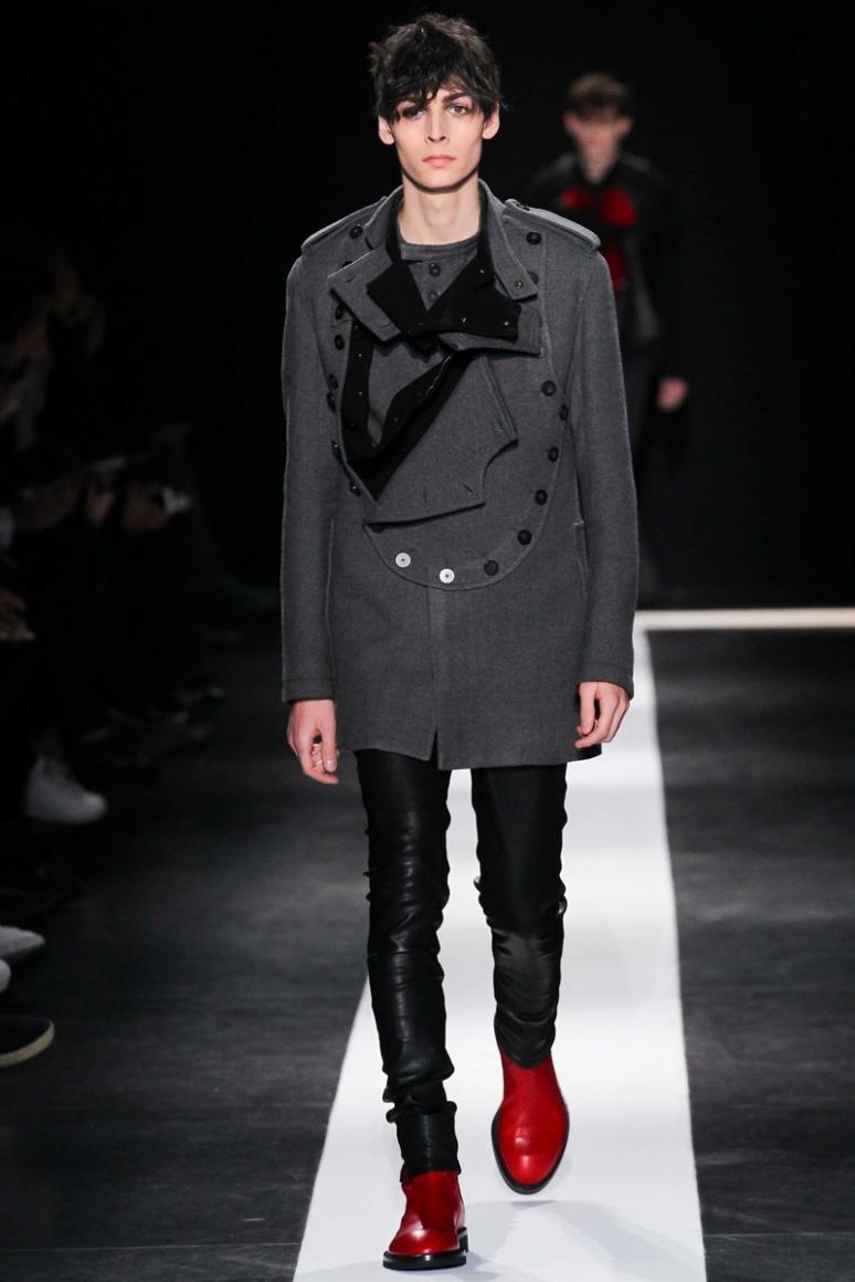 Ann Demeulemeester Menswear осень-зима 2015/2016 #14