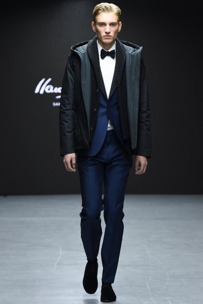 Hardy Amies Menswear осень-зима 2015/2016 #1