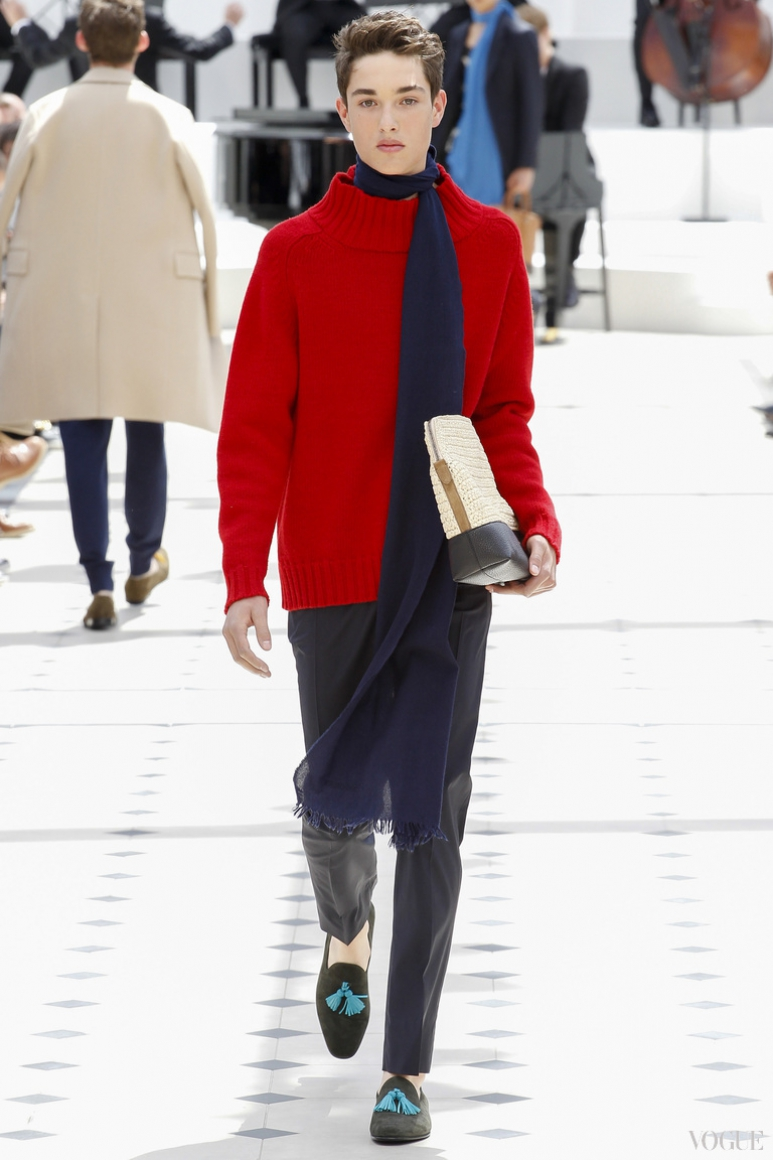 Burberry Prorsum Menswear весна-лето 2016 #35