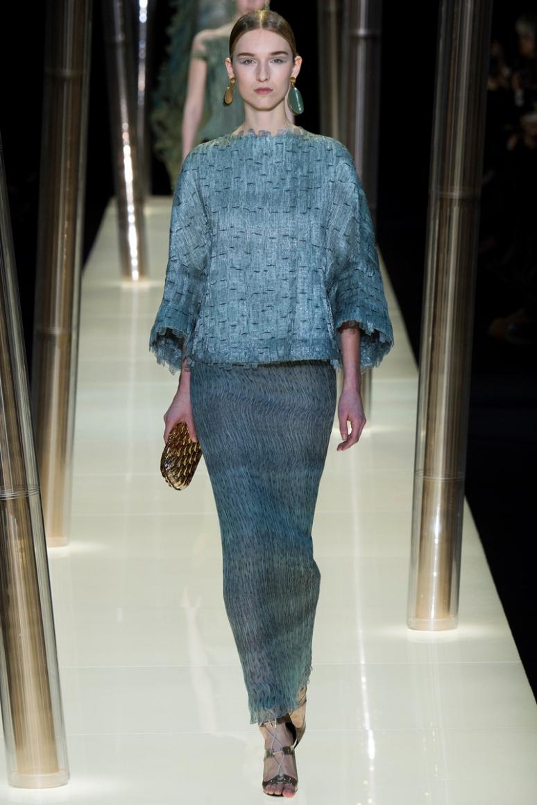 Armani Priv? Couture весна-лето 2015 #50