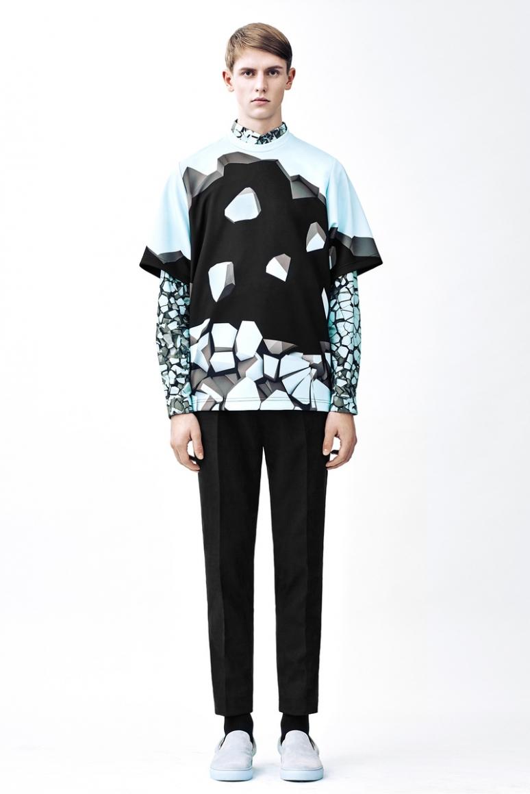 Christopher Kane Menswear осень-зима 2015/2016 #1